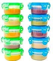 I contenitori alimentari firmati Elacra sono pensati per i bambini e non sono solo ottimi contenitori per alimenti, ma anche un ottimo modo per controllare le porzioni.  Elacra è orgogliosa di offrire un set di contenitori di 100...