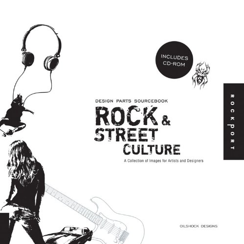 Design Parts Sourcebook: Rock and Street Culture: Rock and Street Culture - Hundreds of Icons, Illustrations, and Letters for Rock Themed Projects and - Kunst London-themed