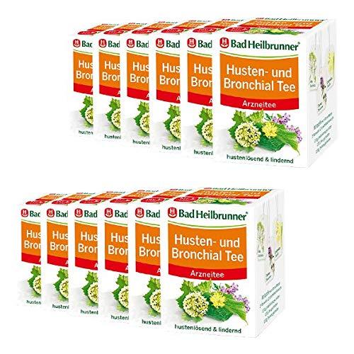 Bad Heilbrunner® Husten- und Bronchial Tee - 12er Pack