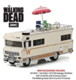 THE WALKING DEAD Modello DieCast Camper 1973 WINNEBAGO CHIEFTAIN Versione LIMITED Con Extra - Scala 1:64 GreenLight Collectibles