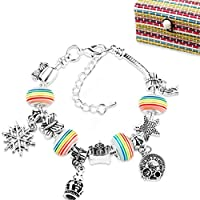 nuoshen Bracelet Making Set, Jewellery Making Kits Children