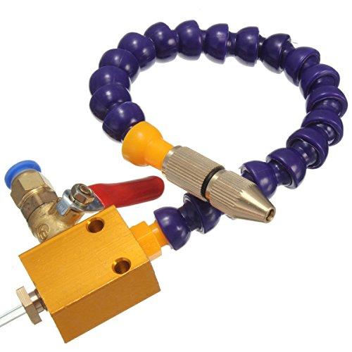 Yosoo-Nebel-Kühlmittel-Schmierungs-Spray-System für 8mm Luft-Rohr CNC-Drehbank-Mühlbohrgerät-Abkühlungs-Maschine