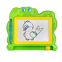 Monicanine Magnetic Drawing Board Sketch Pad Doodle Writing Craft Art for Children Kids (Random Color and Style)