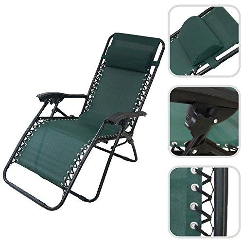 opiniones todeco tumbona de jardin reclinable silla