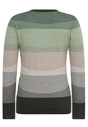 Naketano Female Knit Global asozial am blasen est green Melange Striped