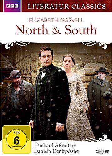 North & South - Elizabeth Gaskell - Literatur Classics [2 DVDs]