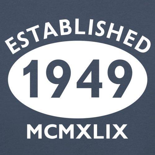 Gegründet 1949 Römische Ziffern - 68 Geburtstag - Herren T-Shirt - 13 Farben Navy