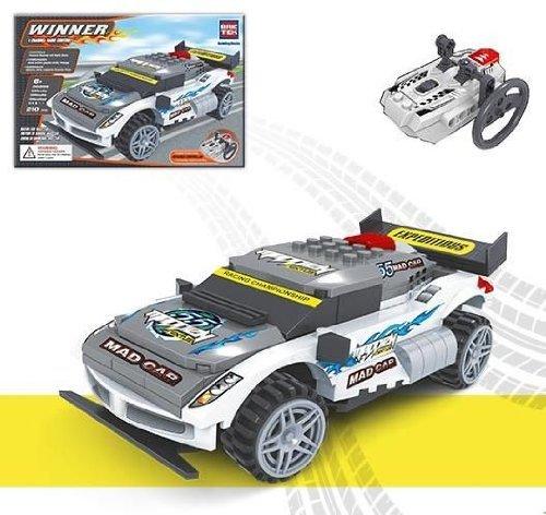 BricTek Radio Control Race Car Building Block Set