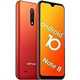 "Teléfono Móvil Libre, Ulefone Note 8 Android 10 3G Smartphone Libre, 2GB RAM 16GB ROM (128GB SD) Smartphone, Pantalla 5.5"" Wa"
