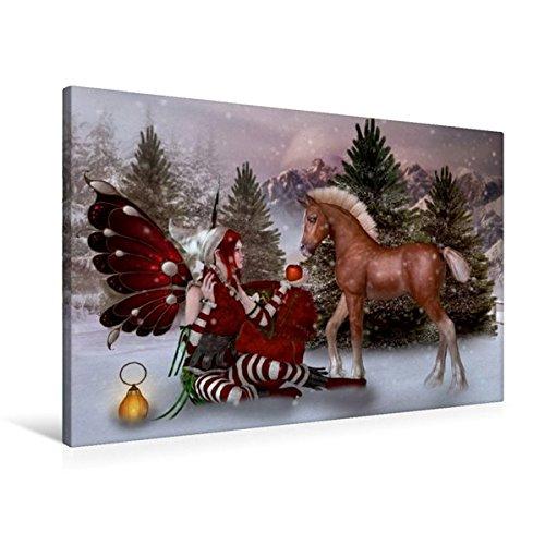 Calvendo Premium Textil-Leinwand 90 cm x 60 cm quer, EIN Geschenk für Dich | Wandbild, Bild auf Keilrahmen, Fertigbild auf echter Leinwand, Leinwanddruck Kunst Kunst -