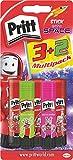 Pritt ps5se Stick Multi Pack 3, 2, 3Original Stylos et 2Neon Crayons Rose