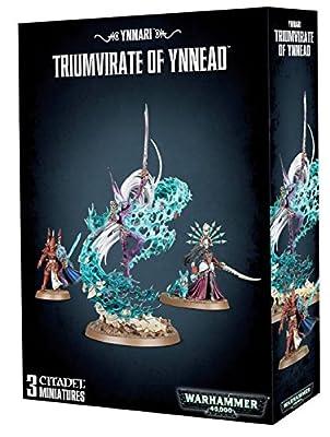 Games Workshop Jeux Atelier 99120104056Ynnari Triumvirat de Ynnead Miniature