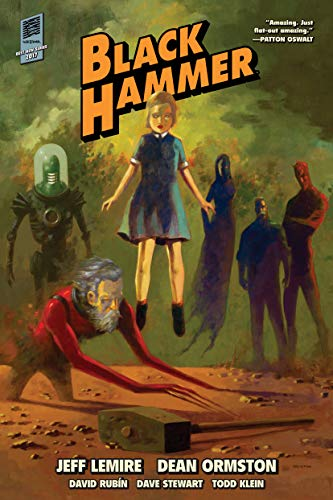 Black Hammer Library Edition Volume 1 (In Stores Halloween)