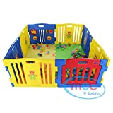 Mcc 8 Sides Baby Playpen with Activity Panel