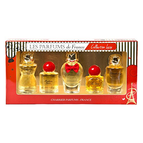 Charrier Parfums - Coffret 5 Parfums Femme Charrier 'Collection Luxe' 49,7 ml