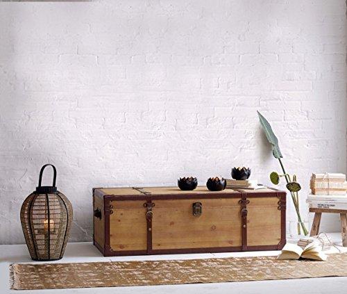 "miaVILLA Couchtisch ""Truhe"" aus FSC Holz, 110x50x35cm - 2"