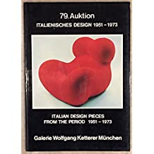 79. Auktion italienisches Design 1951 - 1973. Italian design pieces from the period 1951