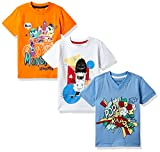 #4: Cherokee Boys' T-Shirt (Pack of 3)