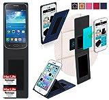 reboon Hülle für Samsung Galaxy Core Plus Tasche Cover Case Bumper | Blau | Testsieger