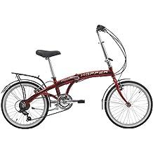 Bicicletta pieghevole Hopper Aluminium 20 Cicli Cinzia (Rosso)