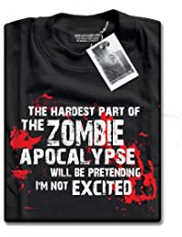 The Hardest Part of The Zombie Apocalypse T-Shirt by HotScamp - Adults and Kids Sizes Age 3/4 - 3XL