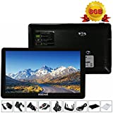 Hieha 7 Zoll Navigationsgerät Auto GPS Navi Navigation Kapazitiver Touch-Screen Europe Traffic Navigationssystem PKW Parkassistent 8GB Schwarz
