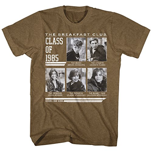 Breakfast Club 1985 Comedy Drama Adult T-Shirt 80s Movie One Day Only