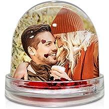 Lolapix Bola de Corazones Personalizada con tu Foto, diseño o Texto, Original y Exclusivo