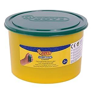 Jovi - Soft Dough Blandiver, Bote de 460 g, Color Verde (46004)