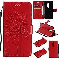 ZTE AXON 7 Hülle Rote im Retro Wallet Design,Cozy Hut ZTE AXON 7 Hülle Leadertasche Premium Lederhülle Flip Case... preisvergleich bei billige-tabletten.eu