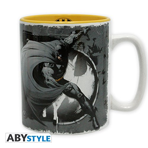 Abymug163 - dc comics - tazza 460ml - batman logo