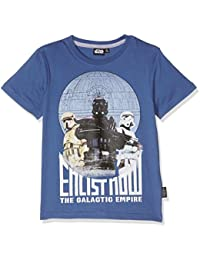Star Wars-The Clone Wars Darth Vader Jedi Yoda Garçon Tee-shirt - bleu
