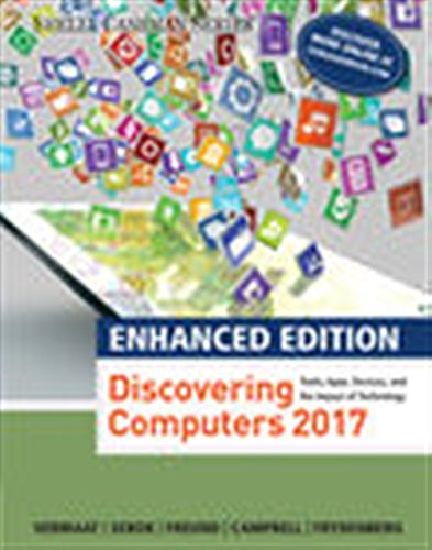 Read PDF Enhanced Discovering Computers C2017 Mindtap Course List Ebook Library By Mark Frydenberg