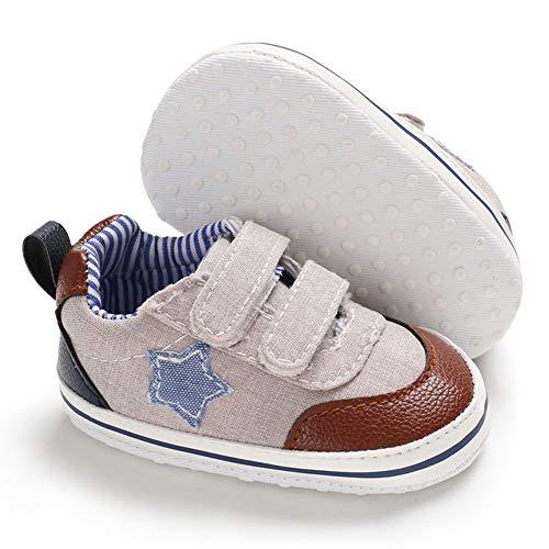 0 Khaki (Babycute , Baby Jungen Lauflernschuhe, Beige - A1-Khaki - Größe: 0-6 Monate)