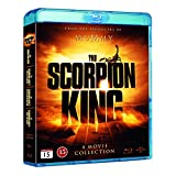 The Scorpion King 1-4 Box Set [Region Free Finland Import]Blu Ray