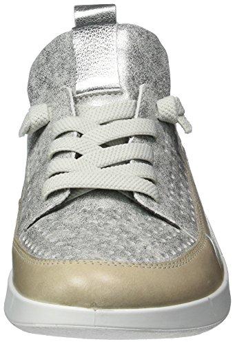 Ara Kopenhagen, chaussons d'intérieur femme Grau (Fossil,zinn/silber)