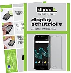 dipos I 2X Schutzfolie matt kompatibel mit Wiko Wim Folie Displayschutzfolie