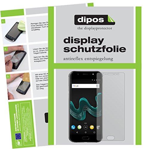 dipos I 2X Schutzfolie matt passend für Wiko Wim Folie Bildschirmschutzfolie