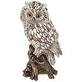 Shudehill Pebble Art - Figura Decorativa, diseño de búho Sobre Rama