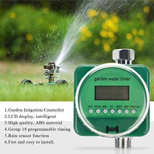 Garden Water Timers - Lcd Display Electronic Garden Agricultural Watering System Timers Controller Automatic Timer - Garden Water Timers Garden Water Timers Digit Timer Automatic Eden Mec -