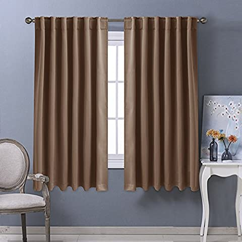 ponydance–posteriore Tab/Rod tasca Solid Blackout Curtain Drape,