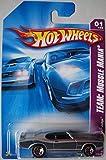 HOT WHEELS TEAM: MUSCL MANIA SILVER PONTIAC GTO JUDGE 1/4 by Hot Wheels