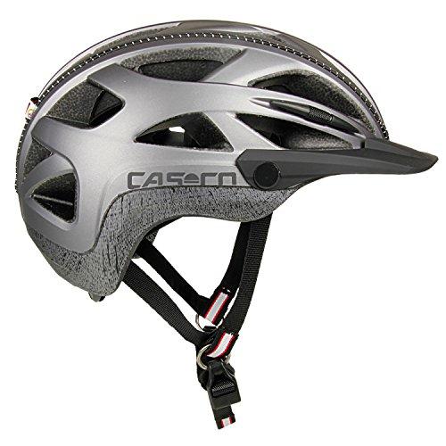 Casco Activ 2U Fahrradhelm, grau, L (Helm Casco)