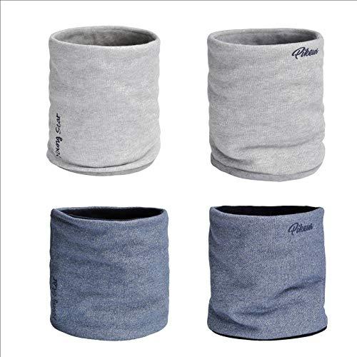 Pikeur Kinder Sweat Lurex-Neckwarmer, Schornstein Farbe Grey