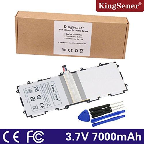 KingSener® SP3676B1A (1S2P) batterie pour Samsung GT-P5100GT-P5110GT-P7500GT-P7510GT-N8000GT-N8010, Galaxy Tab 225,7cm. avec gratuit 2ans de garantie