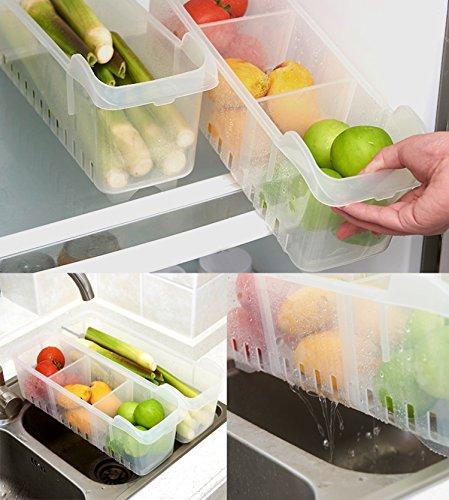 Kurelle confezione da 2 frigorifero congelatore - Contenitori da cucina ...