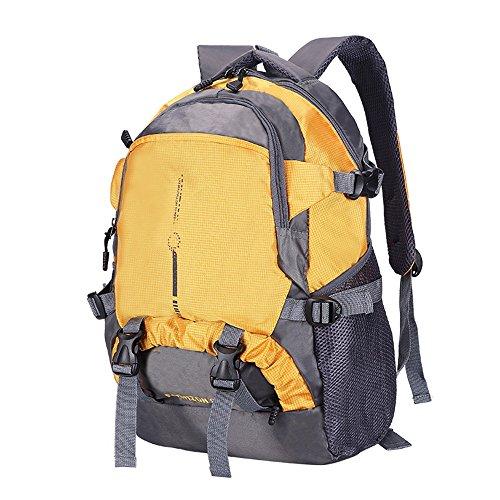 Tasca ultrasottile dello zaino / sacchetto di alpinismo impermeabile di viaggio / sacchetto di sport femminile / sacchetto di spalla maschio ( Colore : Rosso ) Rosso