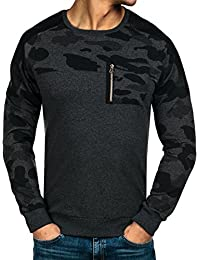 BOLF – Sweat – Pull de sport – Manches longues – Sweat-shirt – Homme [1A1]