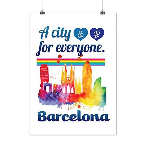 pride-love-city-barcelona-spain-city-matte-glossy-poster-a3-42cm-x-30cm-wellcoda