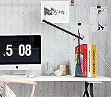 H&M Lampada da Scrivania Torre Fashion letto lampada da tavolo LED , cool black